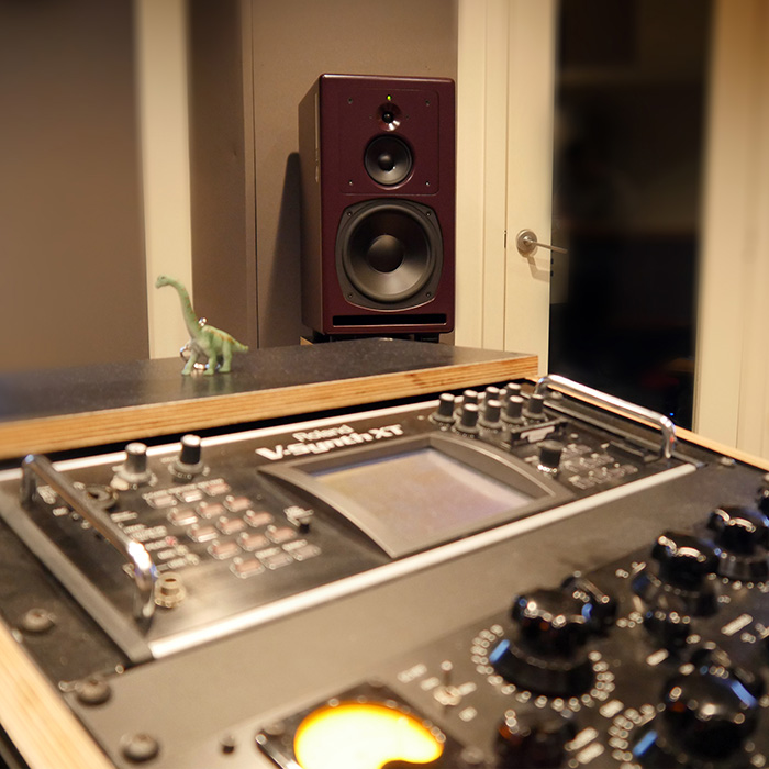 PSI Audio A25-M studio monitors