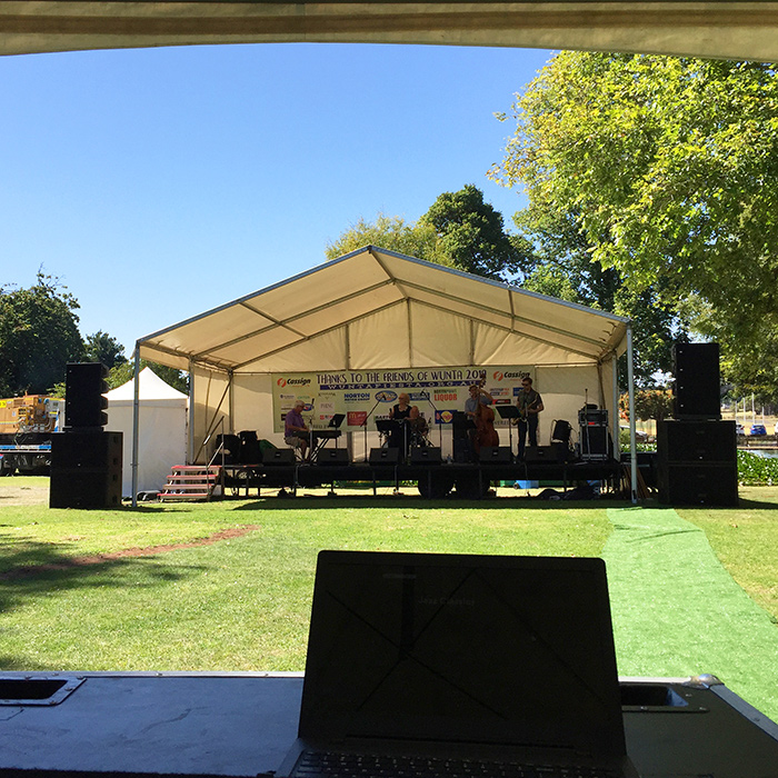 Warrnambool Live Audio Revitalised by RCF HDL Series