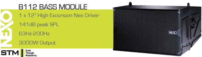 Nexo STM B112 Bass Module