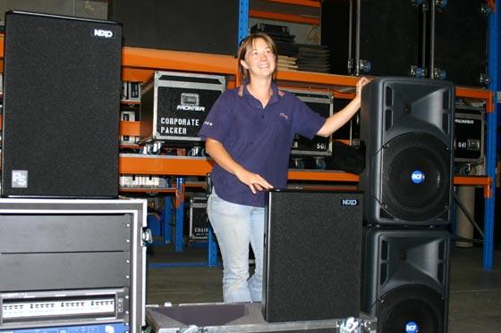 Frontier Lighting Factory Manager - Sharon Clark