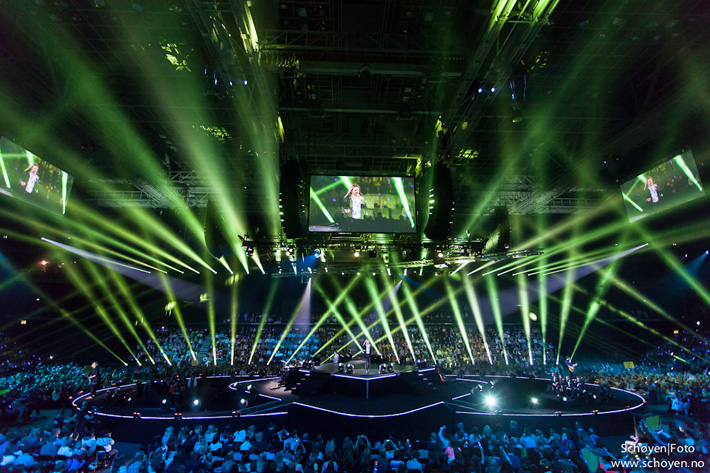 Nexo STM for Norwegian Idol